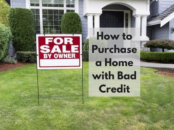 How do you buy a house with bad credit 28 images for What kind of loan do you need to buy land