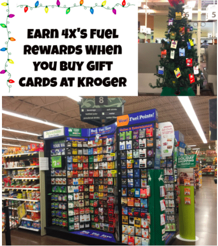 earn 4xs fuel rewards when you buy gift cards at kroger