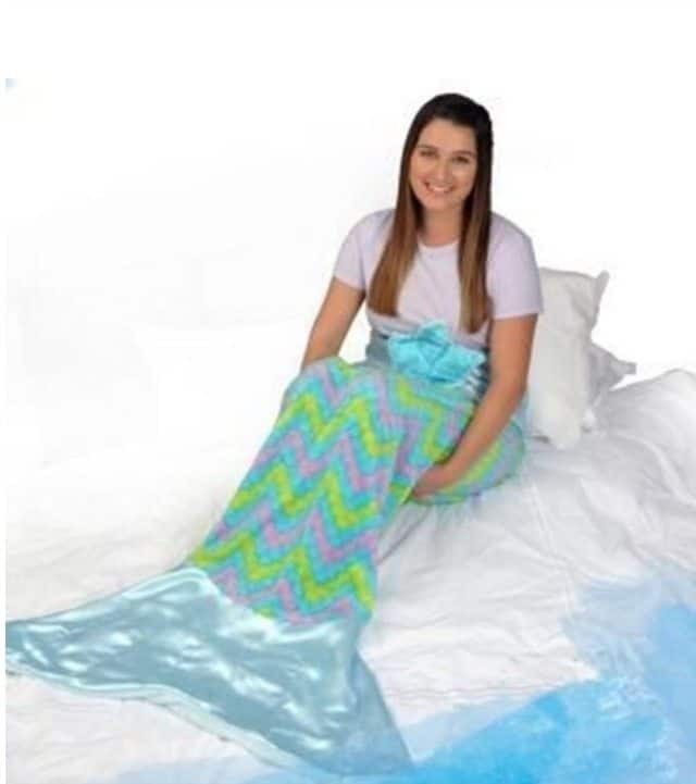 Snuggle up with a mermaid snuggie tail saving you dinero for Snuggie tails clown fish