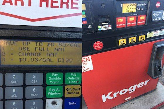 4x's the Fuel Rewards at Kroger until December 20