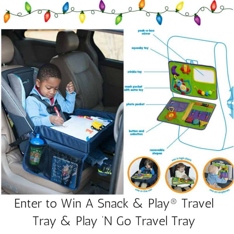 Enter to Win A Snack & Play® Travel Tray & Play 'N Go Travel Tray