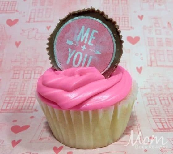 Sweetheart Peanut Butter Cup Toppers Valentine's Day Recipes