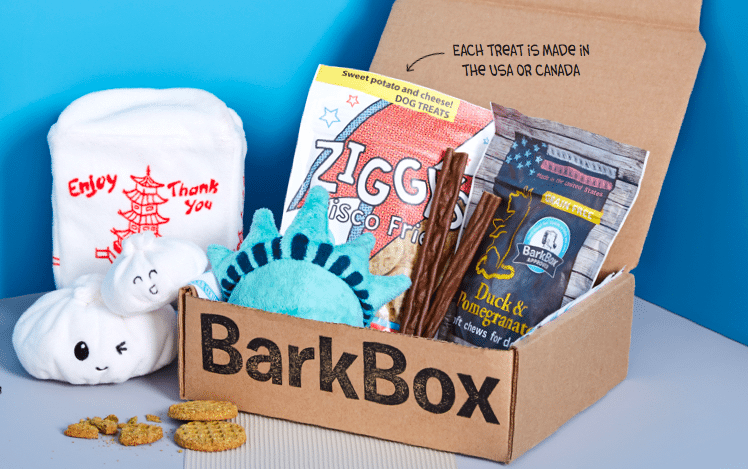 Win A 1-month BarkBox Gift Card ~ #Pawsinlove Giveaway Hop