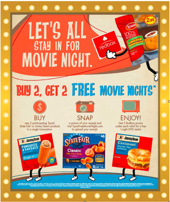 Corn Dogs + Movie + Snack Box = Perfect Family Movie Night #TysonFreeMovieNight