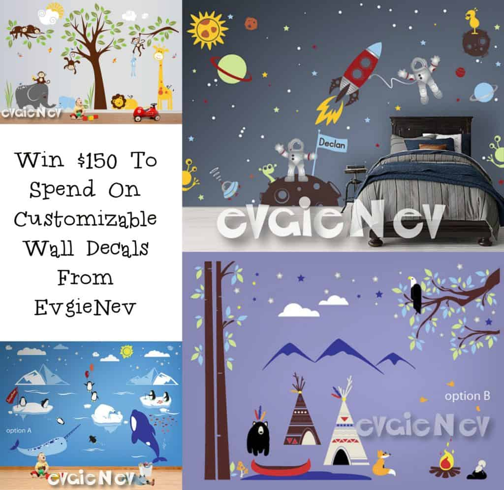 Enter the EvgieNev Wall Decal Giveaway. Ends 2/10