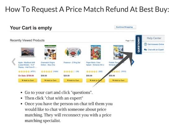 Best Buy Price Match - Get A Refund Up To 30 Days After Your Purchase