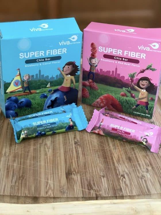 Learn More About vivaNUTRITION® Healthy Super Fiber Chia Bars + Win 8 Boxes! (3 Winners)