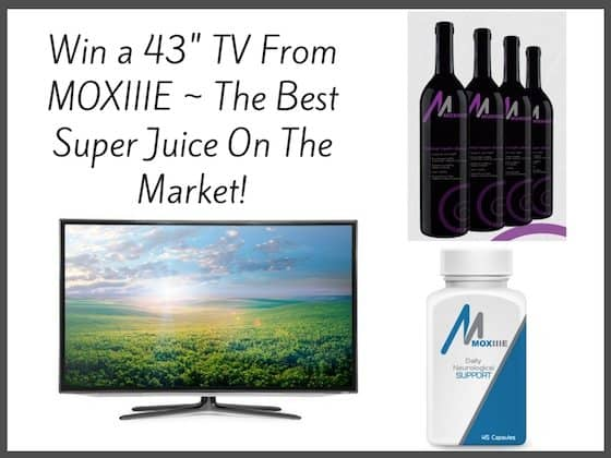 Win a New TV from Moxiiie!!