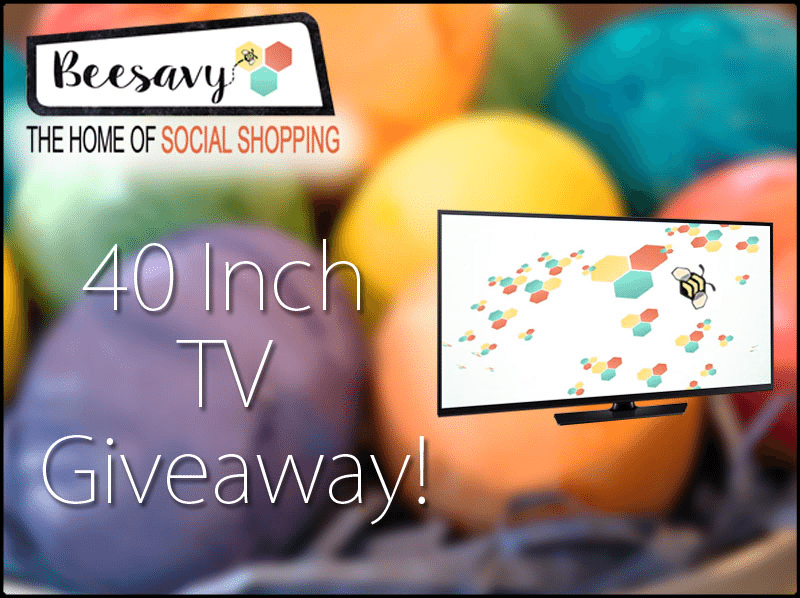 Enter the Beesavy TV Giveaway. Ends 5/1