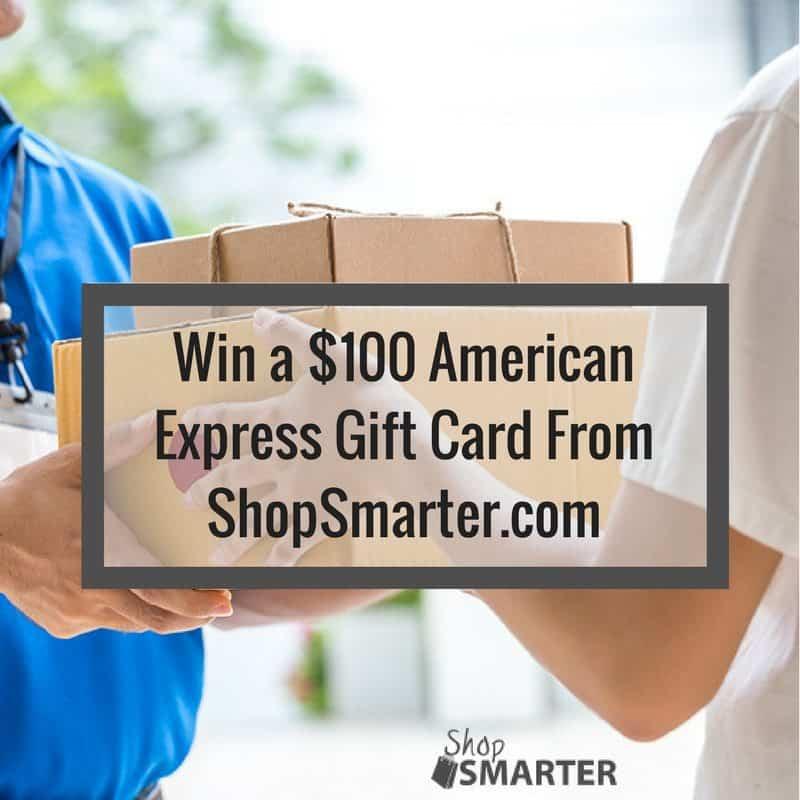 GIVEAWAY $100 Amex Gift Card from @ShopSmarterCom Ends 4/14 #ShopSmarter #2017Spring