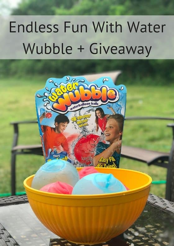 Endless Fun With Water Wubble + Giveaway #WaterWubble