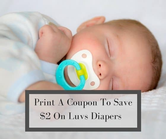 Save $2 On Luvs Diapers (Print at Home) #SharetheLuv