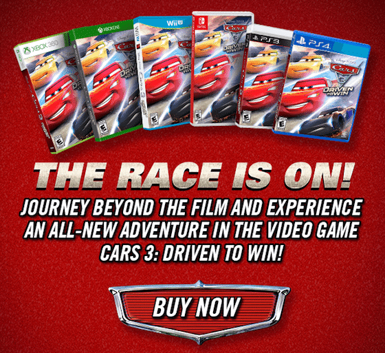 Cars 3: Driven To Win Is Now Available #Cars3