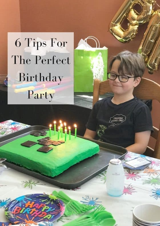 6 Tips For The Perfect Birthday Party #BirthdaysMadeBrighter