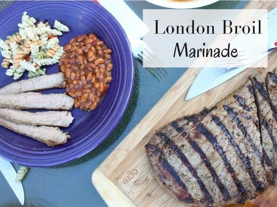 London Broil Marinade Recipe #DrPepperPickYourPepper