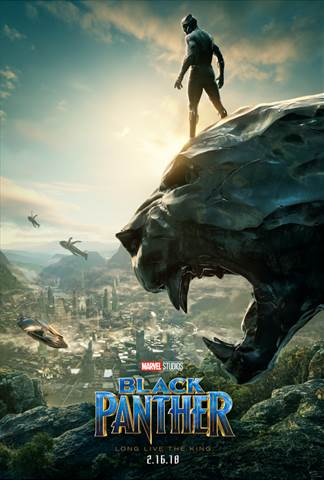 New Poster Now Available for BLACK PANTHER #BlackPanther