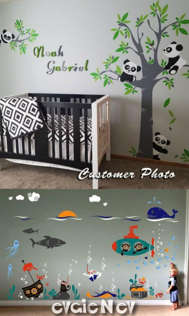 Wall Decals Giveaway panda