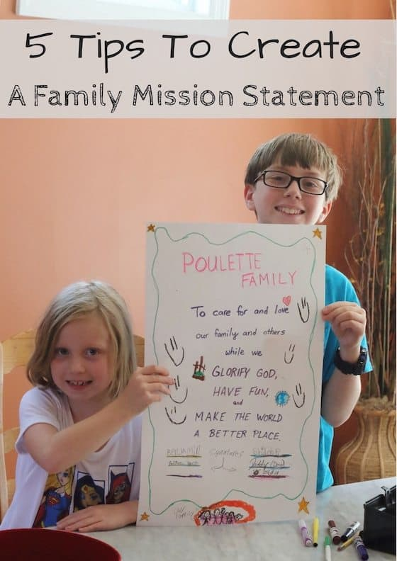 Leader in Me at Home: 5 Tips for Creating a Family Mission Statement