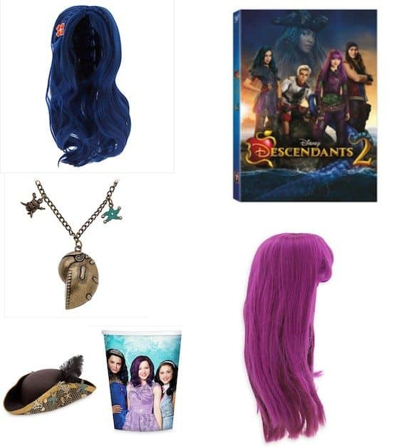 Disney Descendants 2 Dress Up Party