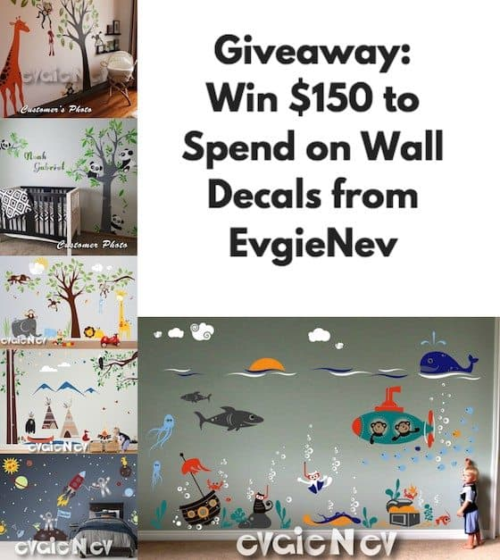 Wall Decals Giveaway