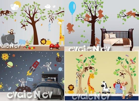 EvgieNew Wall Decals Giveaway!