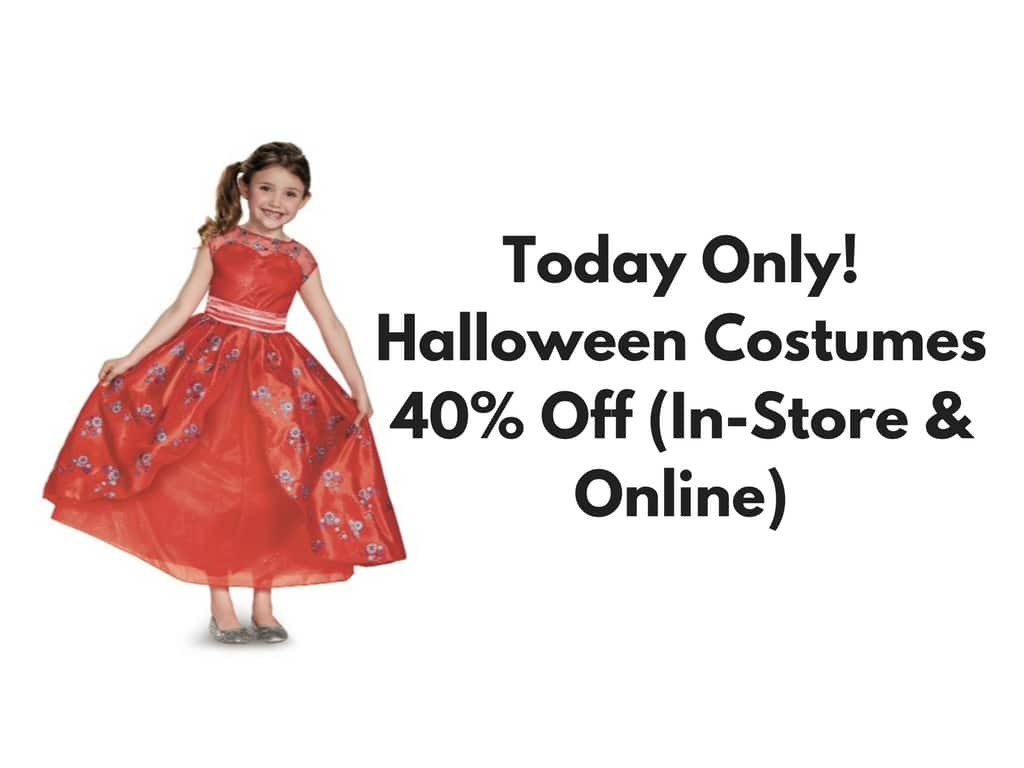 hot* target halloween costumes 40% off (in-store & online) - saving