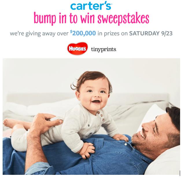 Carter's Big Baby Giveaway