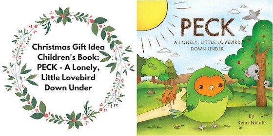 Children's Book: PECK - A Lonely, Little Lovebird Down Under