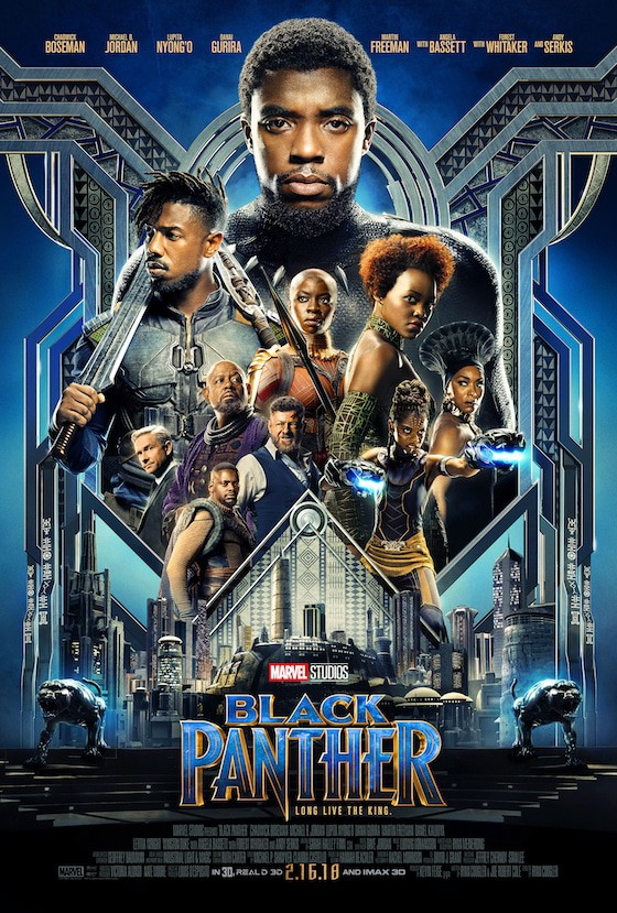 Marvel's BLACK PANTHER – Now Playing in Theatres Everywhere #BlackPanther