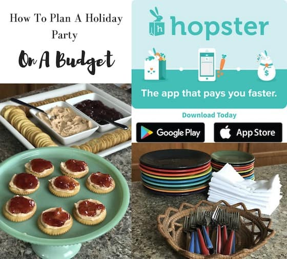 How To Plan A Holiday Party On A Budget #SaveWithHopster
