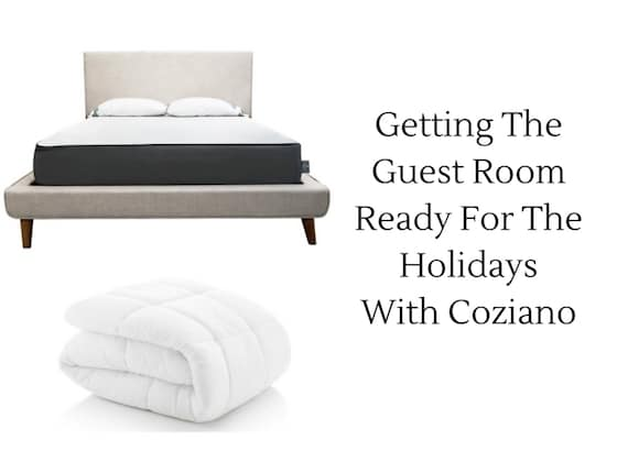 Getting The Guest Room Ready For The Holidays With Coziano