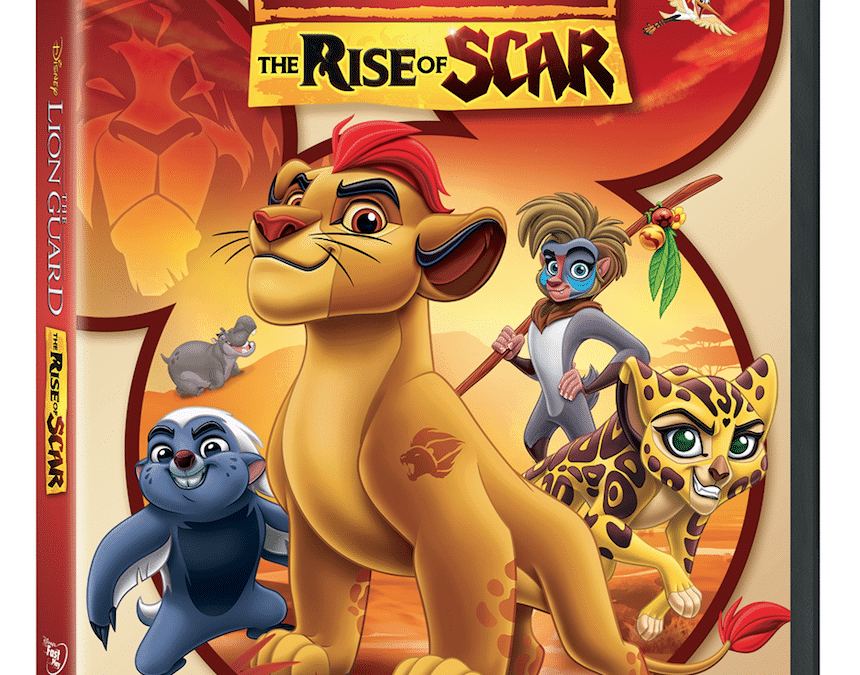 Giveaway: Win The Lion Guard – The Rise of Scar on Disney DVD + Activities