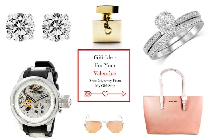 Gift Ideas For Your Valentine + $500 Giveaway From My Gift Stop
