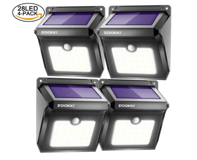 **EXPIRED** Motion Sensor Outdoor Wall Lights – $17.99
