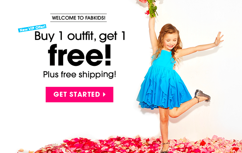 Amazing Deals On Clothes For Kids at FabKids