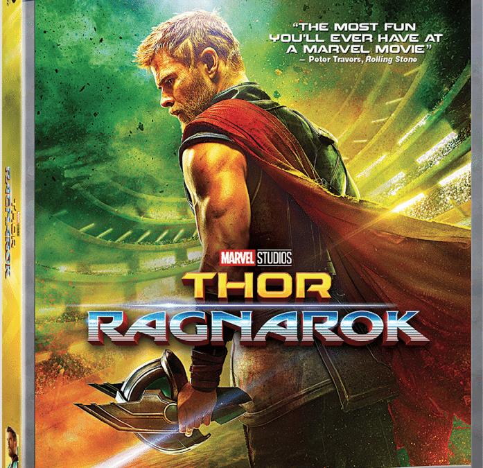 Marvel Studios' Thor: Ragnarok Digital & Blu-ray™ Release Dates