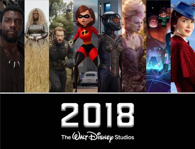 2018 Walt Disney Studios Motion Pictures Releases