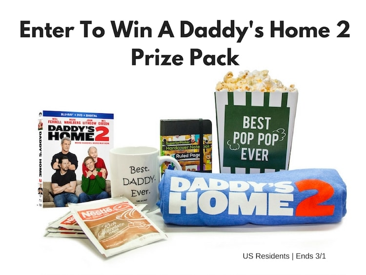 Enter To Win A Daddy's Home 2 Viewing Kit