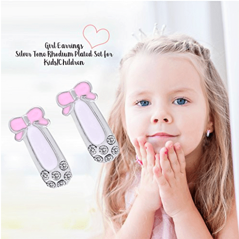 5 non candy easter gifts for kids giveaway optimistic mommy silver tone rhodium plated hypoallergenic studs for toddlers or kids negle Choice Image