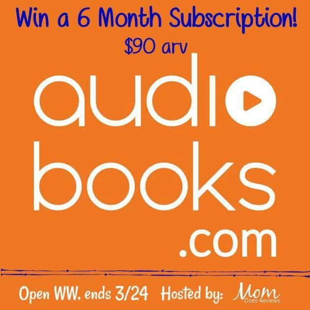 Win a 6 month subscriptions To Audiobooks.com