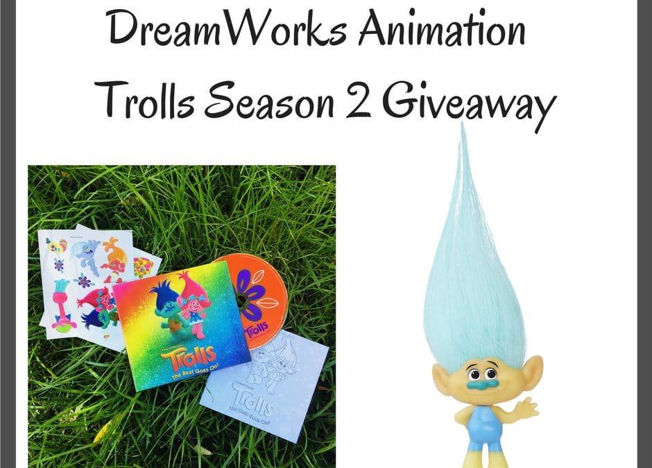 DreamWorks Animation – Trolls Season 2 Giveaway