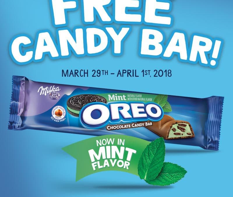 $1 OREO Chocolate Candy Bar + How To Get One For Free