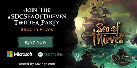 Hot Deal: Purchase an Xbox One X and get Sea of Thieves for Free + Giveaway #SDCSEAOFTHIEVES