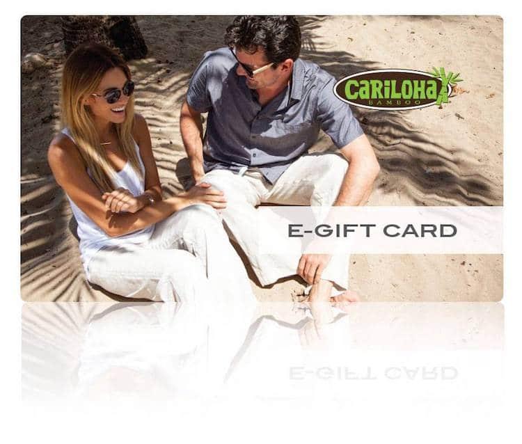 Win A  $200 Cariloha Bamboo e-Gift Card