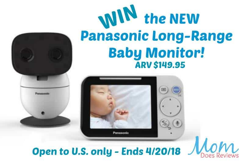 Enter To Win The NEW Panasonic Long-Range Baby Monitor