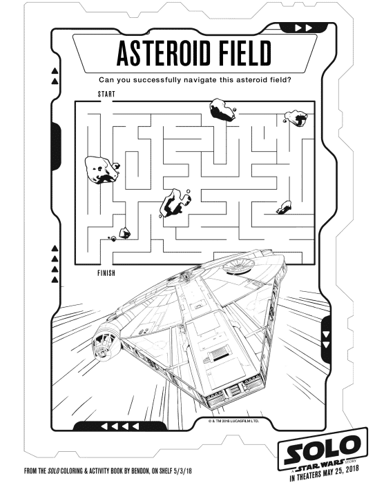 print now solo a star wars story coloring activity pages Star Wars Saga Edition Character Generator check out the trailer