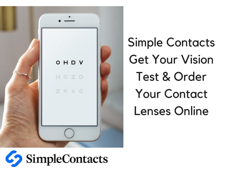 Simple Contacts – Get Your Vision Test & Order Your Contact Lenses Online