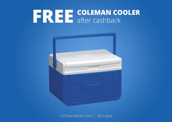 *HURRY* FREE Coleman Cooler After Cash Back