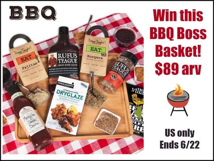 Giveaway: Win A BBQ Boss Basket from GourmetGiftBaskets.com ($89 arv)