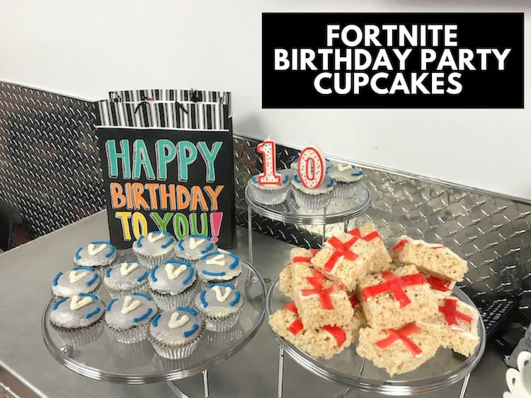 Fortnite Birthday Party Cupcakes & Med Kits Recipe